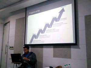 Sundeep Anand pracuje nad projektem Transtats…